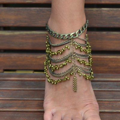 Angelina Anklet bronze