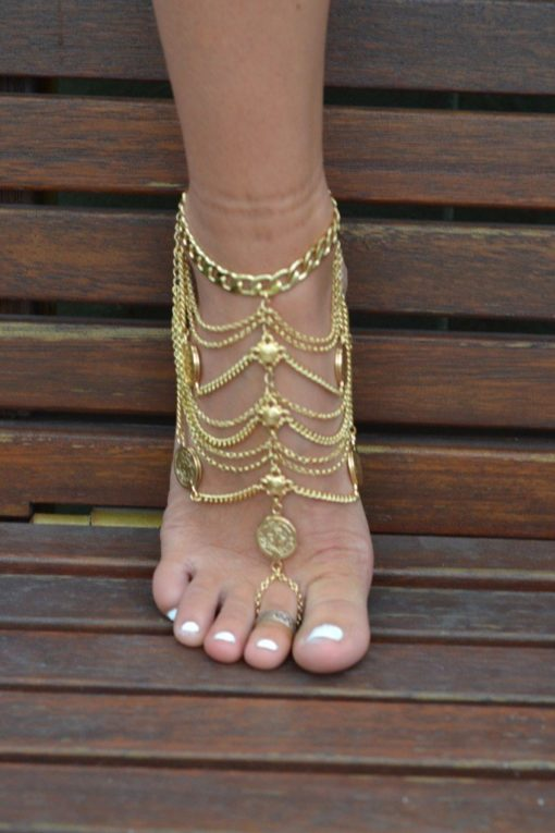 Anklets / Foot pieces / Boot cuffs
