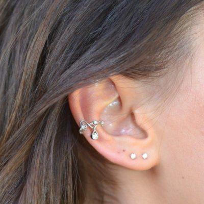 Stella ear cuff silver