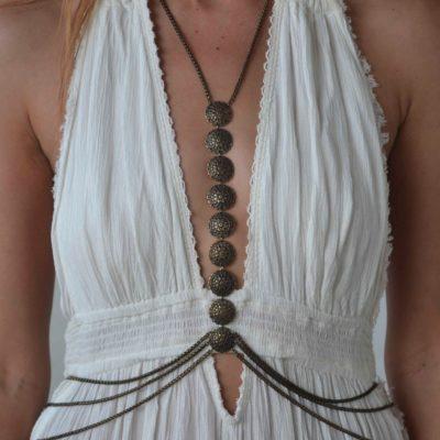Matisa body chain bronze