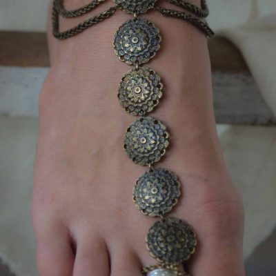 Matisa foot piece bronze