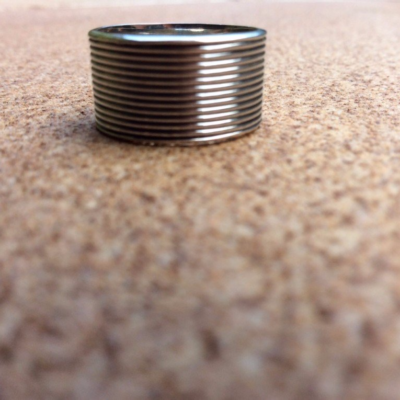 Duke sterling silver ring size 5