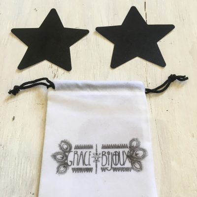 Black Star Nipple Covers