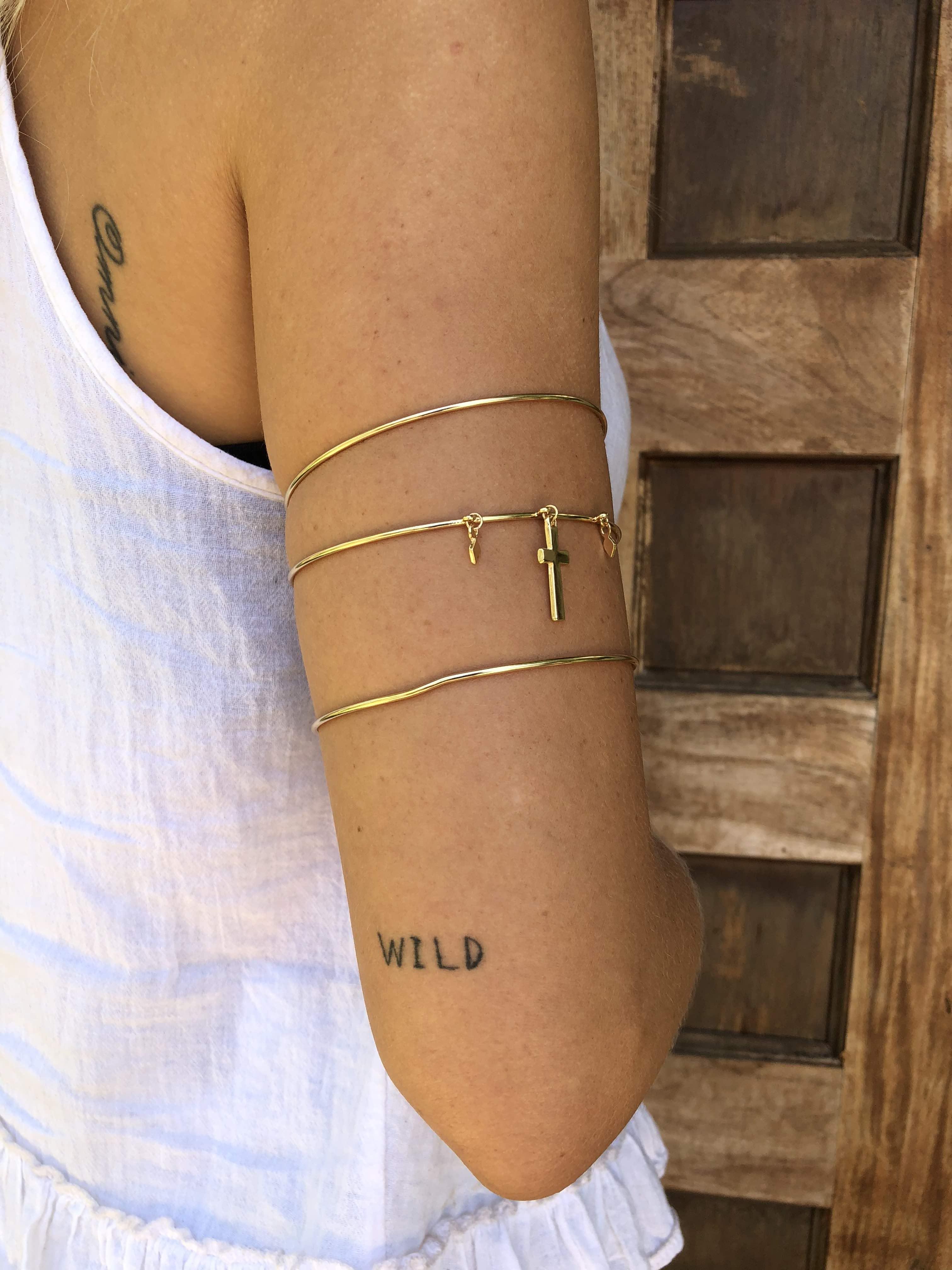 Madonna Arm Band Set Of 3 Grace Bijoux